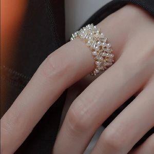 🤍Insta elegant open ring
